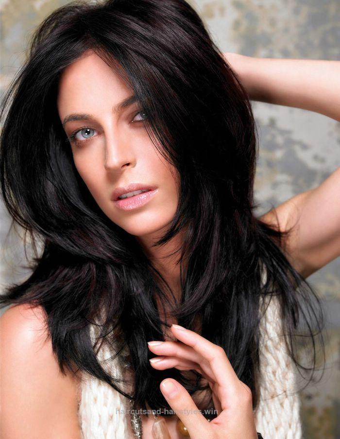 Medium Length Hairstyles For Round Faces Thick Hair Medium Length