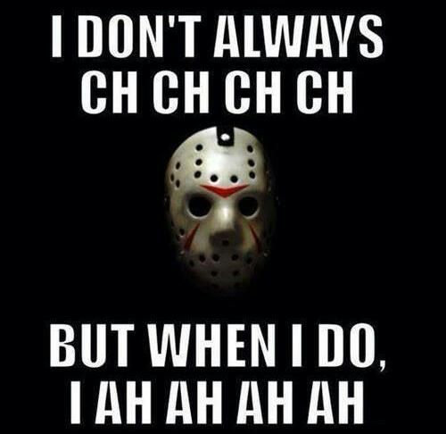 Image result for jason voorhees meme