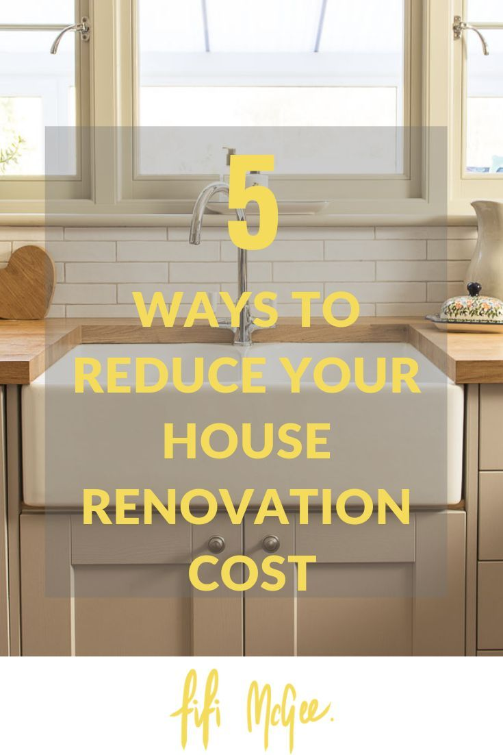 5 ways to reduce your house renovation costs images