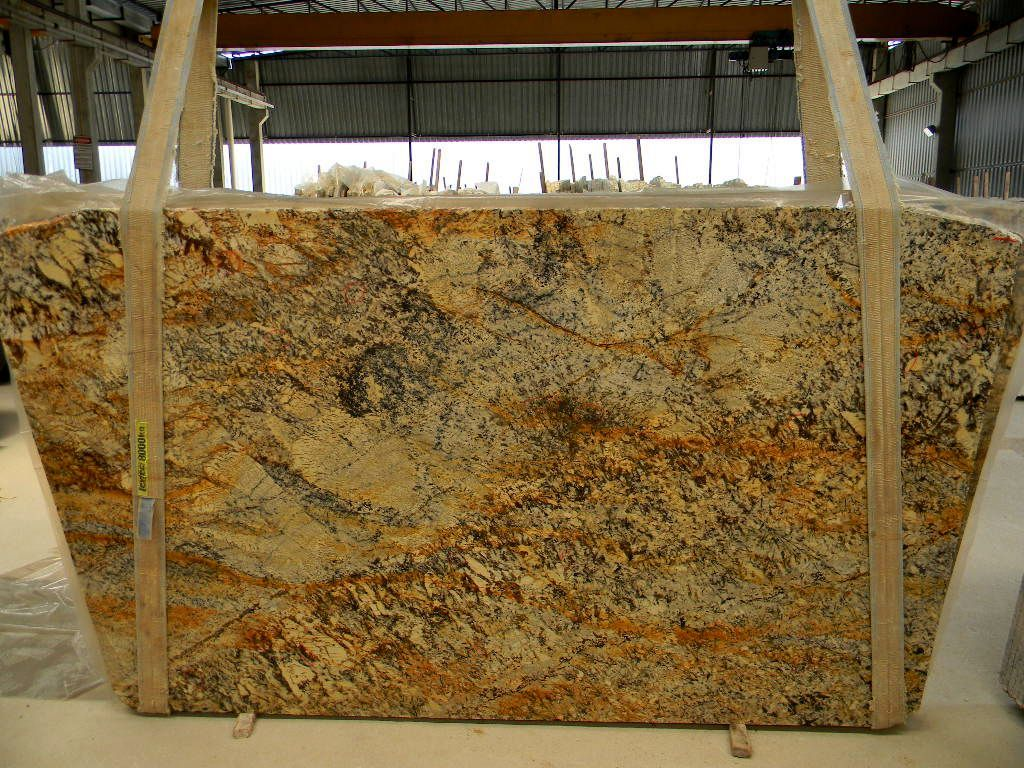 Shivakashi granite countertops slab and prices living rooms gallery - Granite Persa Gold 3cm Bl2