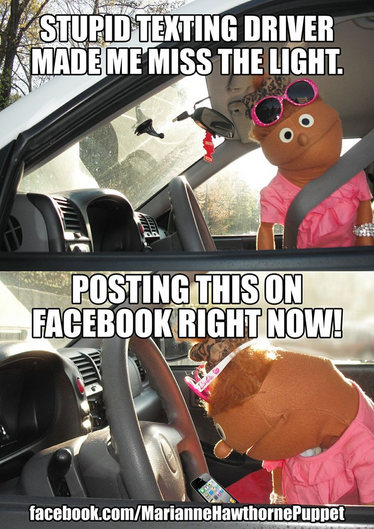 Texting and Driving Meme Comedy https://www.facebook.com ...
