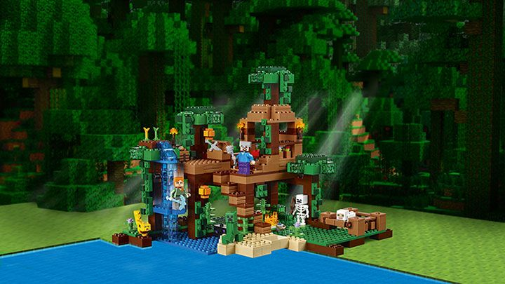Minecraft Products Lego Com Tree House Jungle Tree Photo