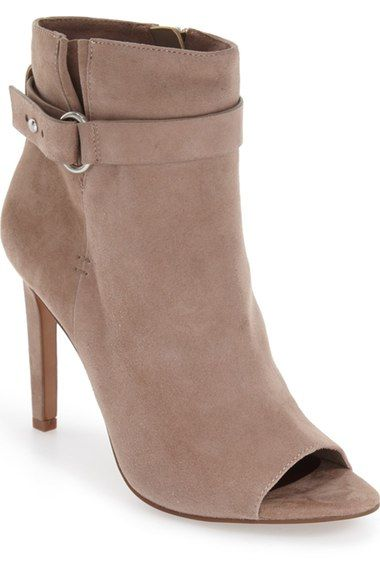 BCBGeneration 'Carolena' Peep Toe Bootie (Women) available at #Nordstrom
