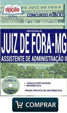 Concurso Prefeitura De Juiz De Fora Mg Assistente Administrativo
