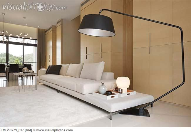 This Modern Large Floor Lamp Would Bring Much Needed Light With Out The Use  Of The