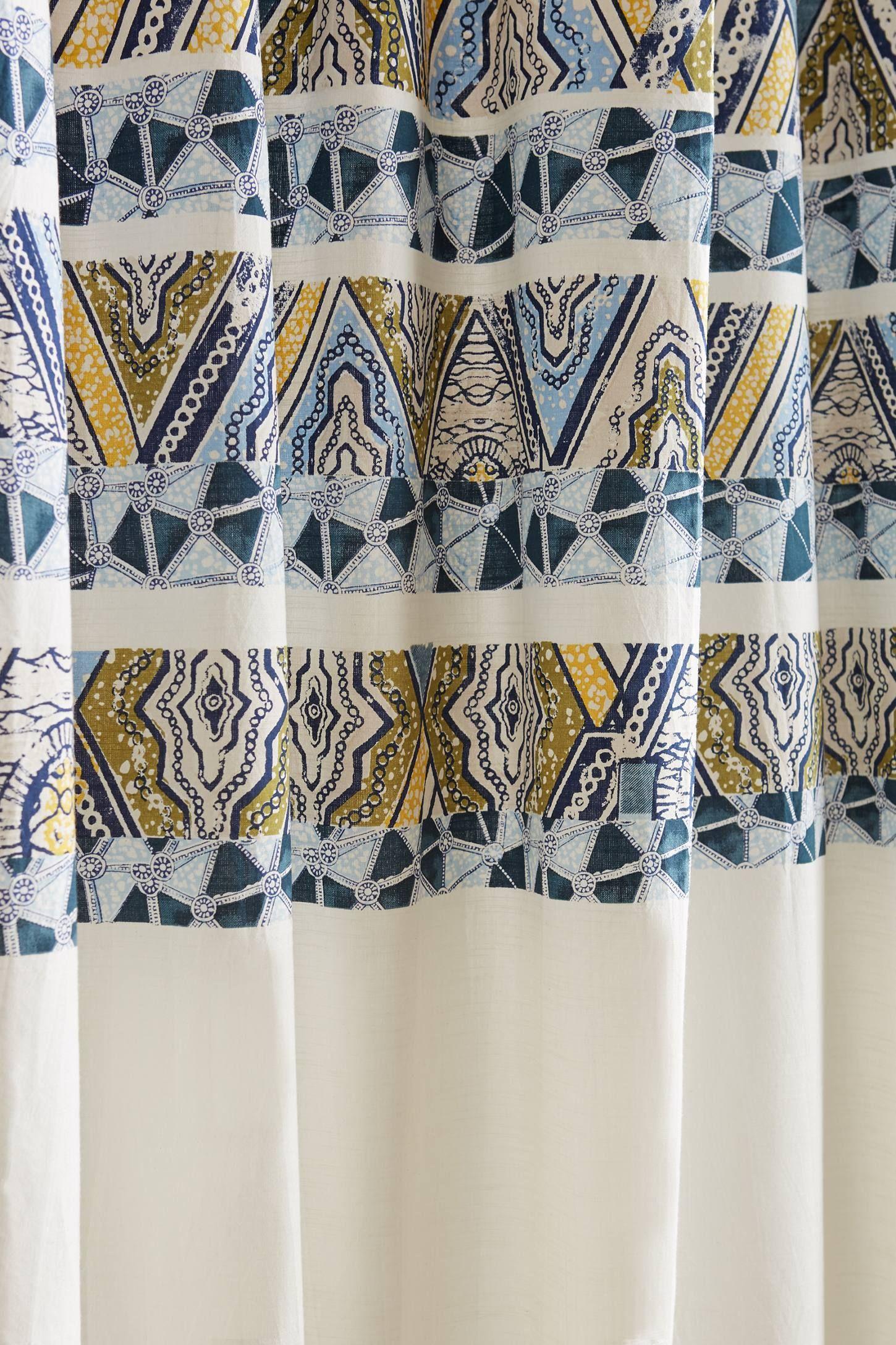 Wax Print Shower Curtain - anthropologie.com