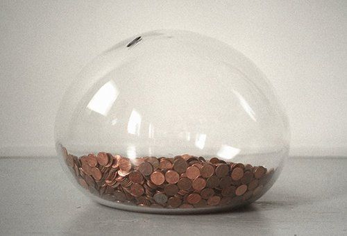 Love This Grown Up Version Of A Piggy Bank Design Sponge Money Jars Change Jar