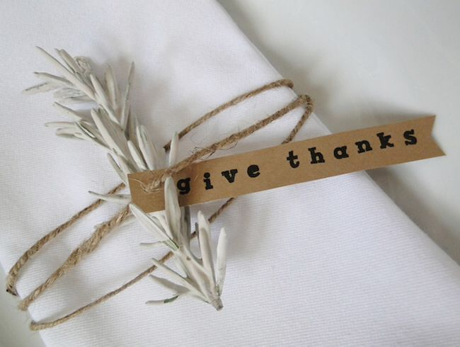 Give thanks tags