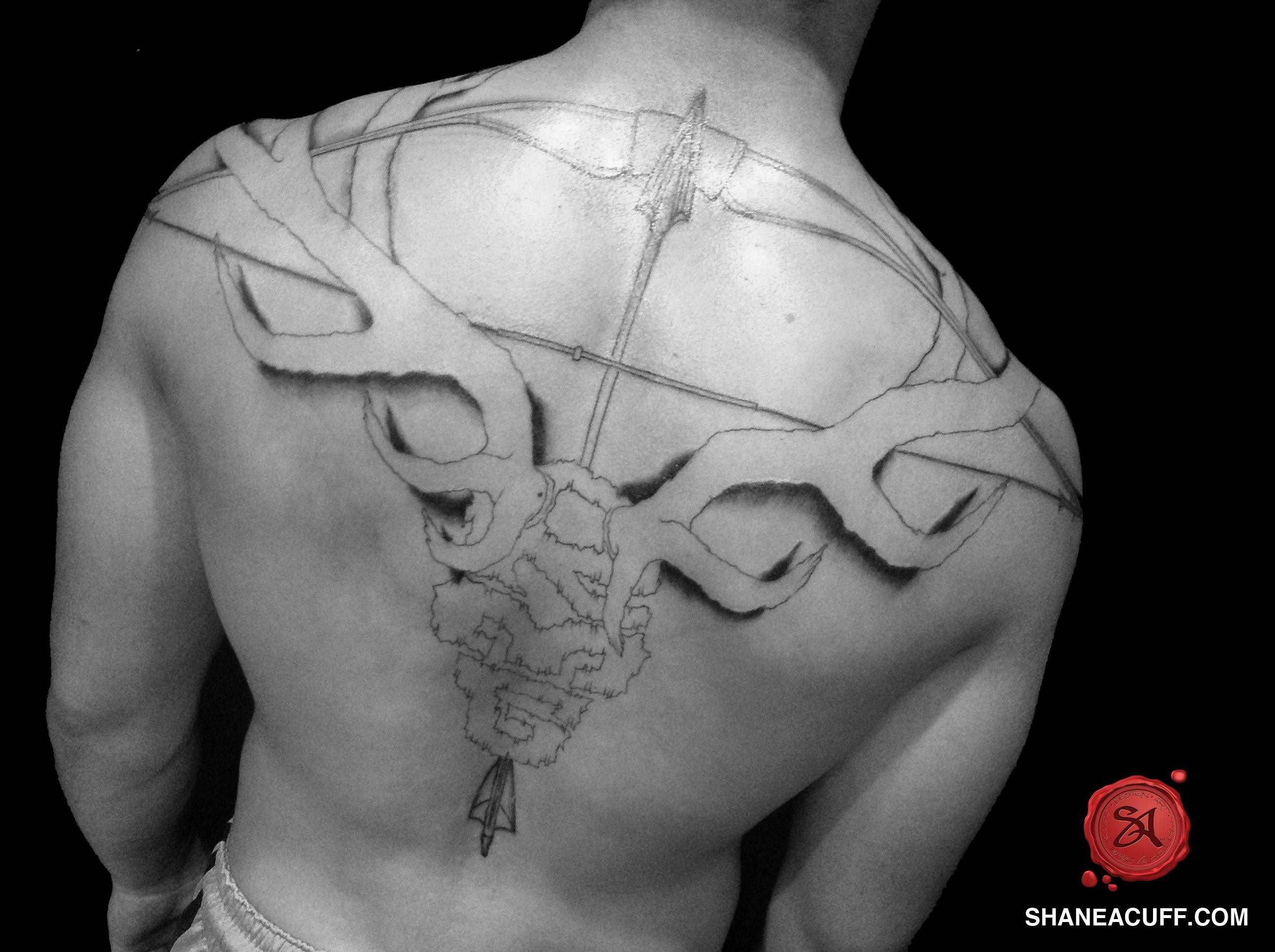Antler Armband Tattoo Wallpapers - http://wallpaperzoo.com/antler ...