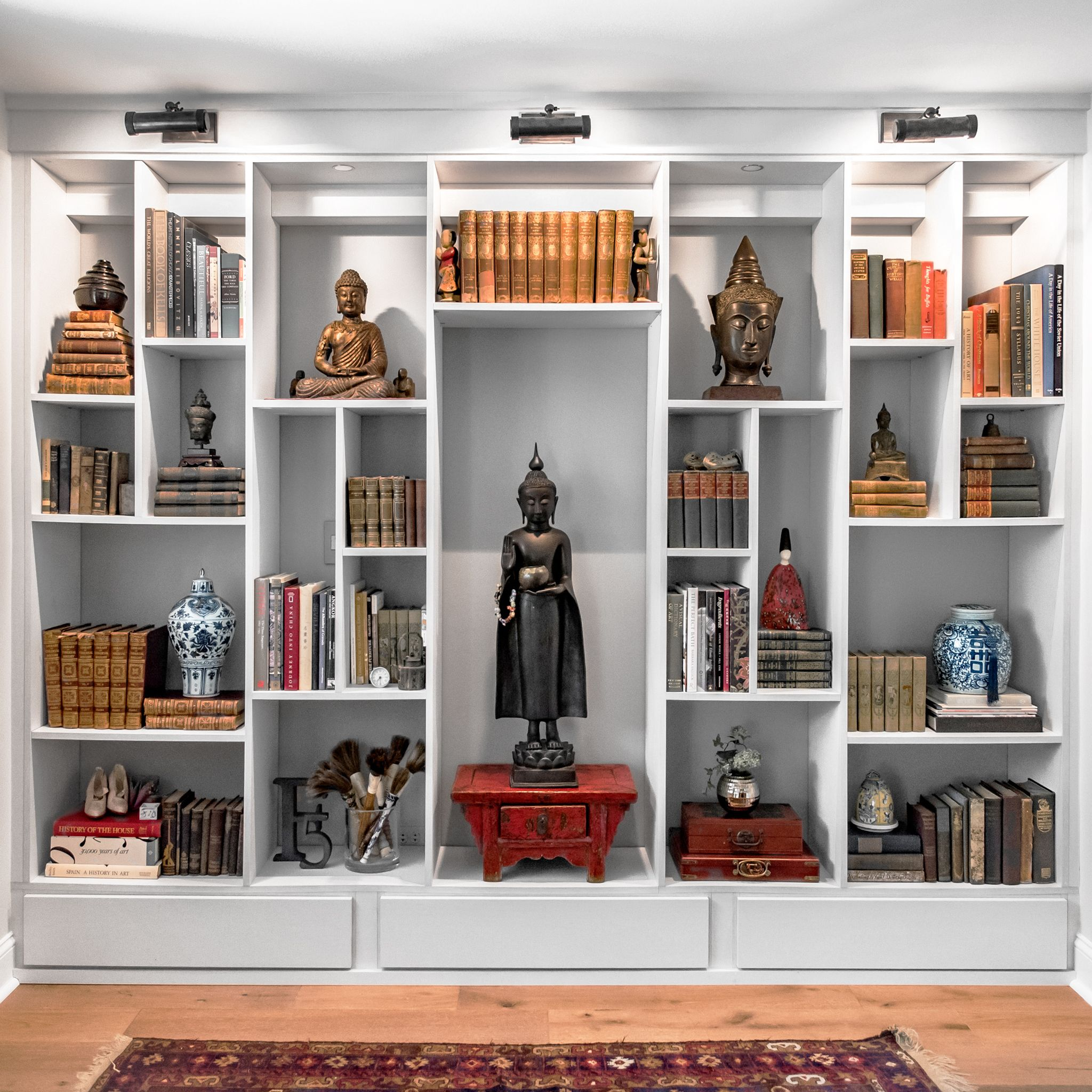 Closet Works Designed This Wall Unit As