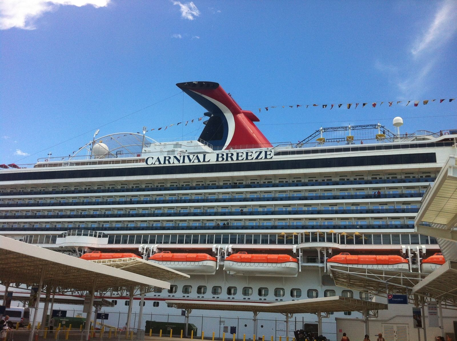 Carnival breeze review for booking our next cruise