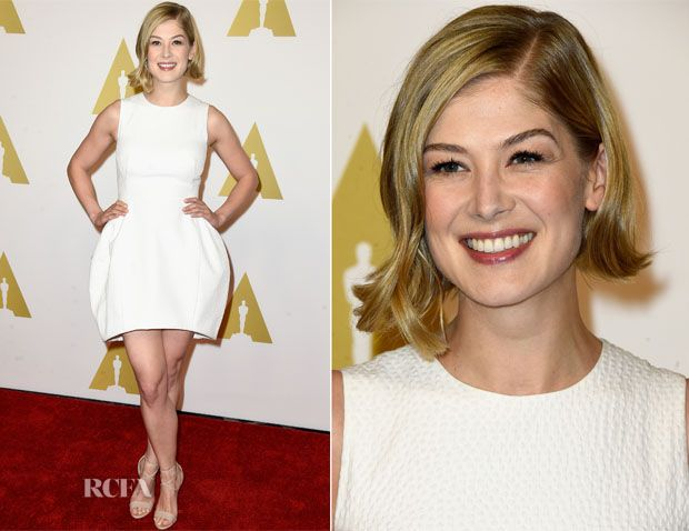 Rosamund Pike In Vionnet – 87th Academy Awards Nominee Luncheon