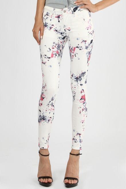 paint skinny legging jeans $46