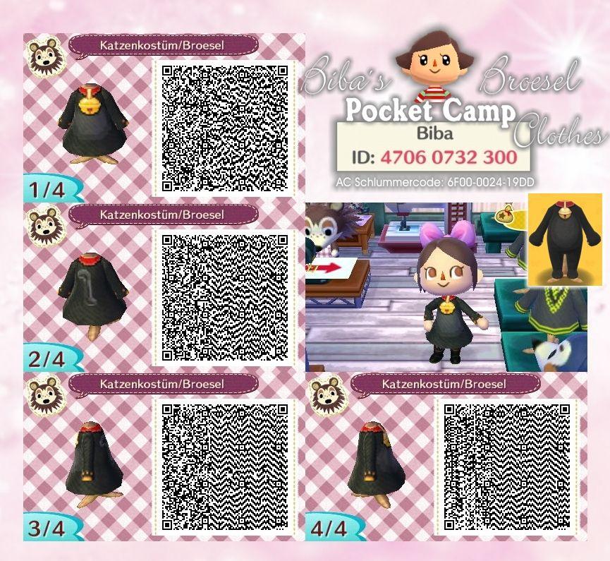 Katzenkostum Kleid Pocket Camp Clothes Broesel Biba Acnl