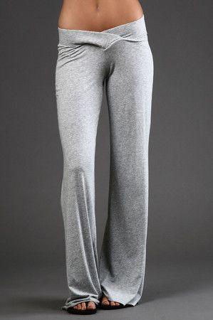 Love comfy yoga pants!