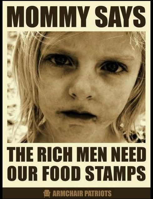 food stamps cost 6 billion last years corporate welfare 83 billion-(not including tax havens) proposed 2015-110 bill