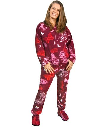 c8beb10e25 Butterfly Print Footed Pajamas