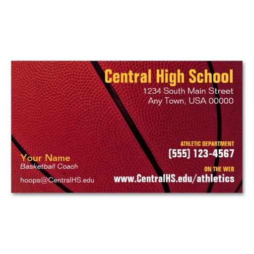 Basketball business cards business cards and business basketball business cards colourmoves