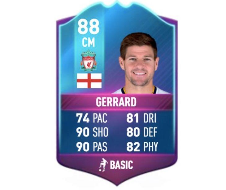 Steven Gerrard Sbc Legend Card For Fifa 17 Hype Fifa 17 Fifa Steven Gerrard