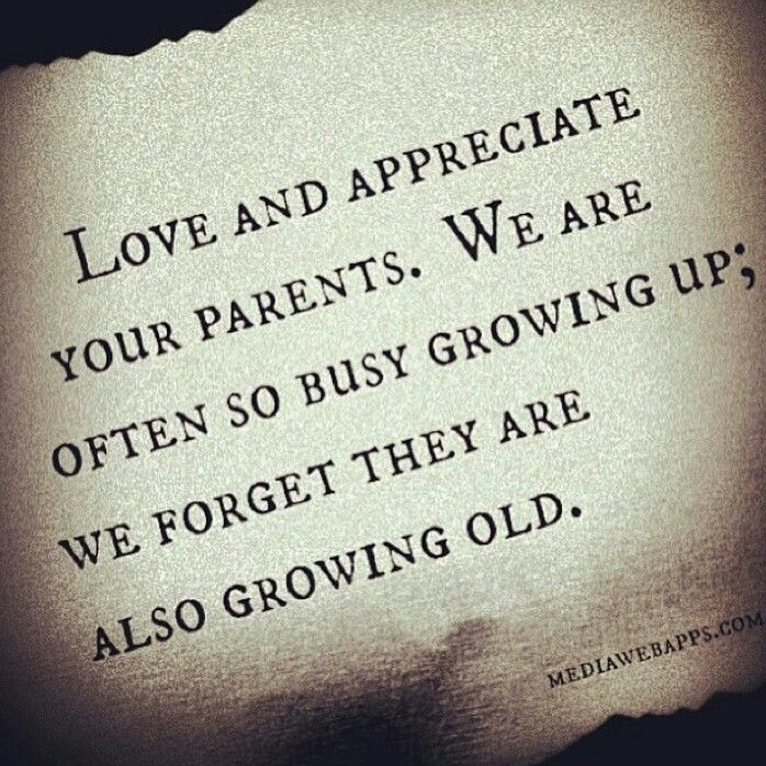 Cherish Every Moment With Your Parents Years Celebrate Life