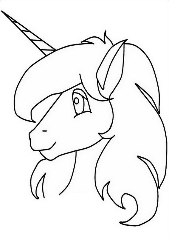 Unicorn 5 Coloring Page Fox Coloring Page Giraffe Coloring