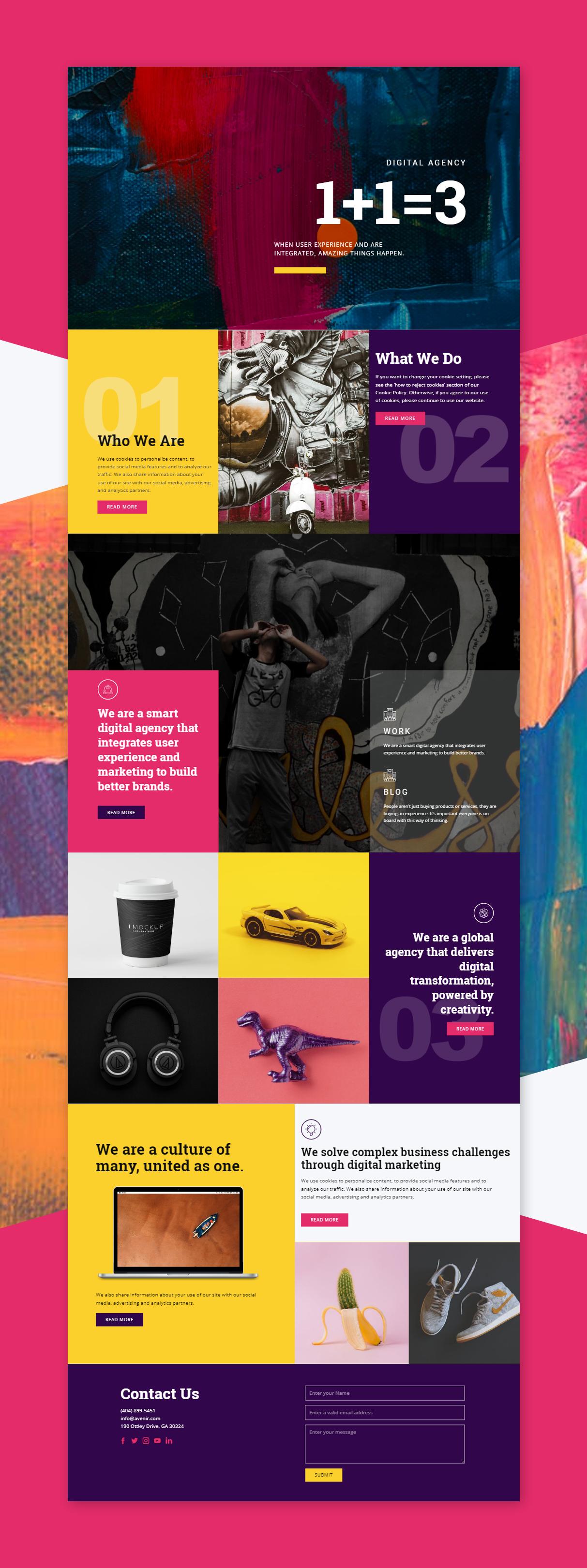 Digital Agency HTML Template