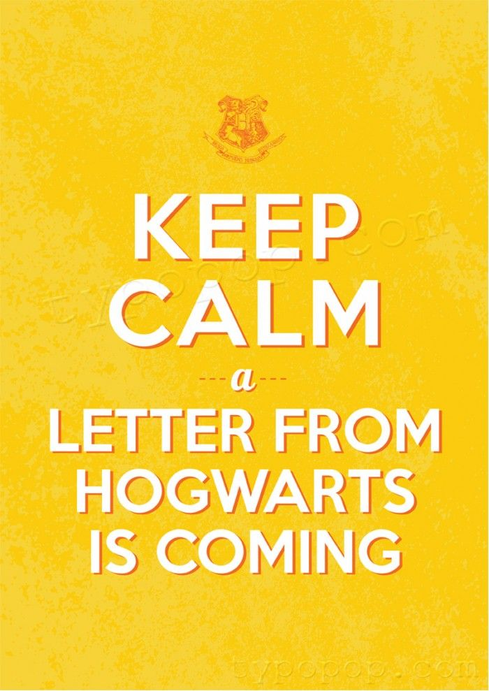 Downloadable Printable Harry Potter Keep Calm Poster. typopop.com ...