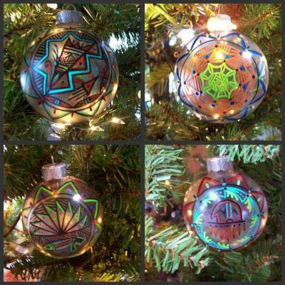 Native Design Ornaments Christmas Ornaments Christmas Ornaments Gifts Christmas Decorations