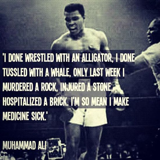 36 Motivational And Inspirational Quotes: 36+ Famous Motivational Muhammad Ali Champ Quotes And