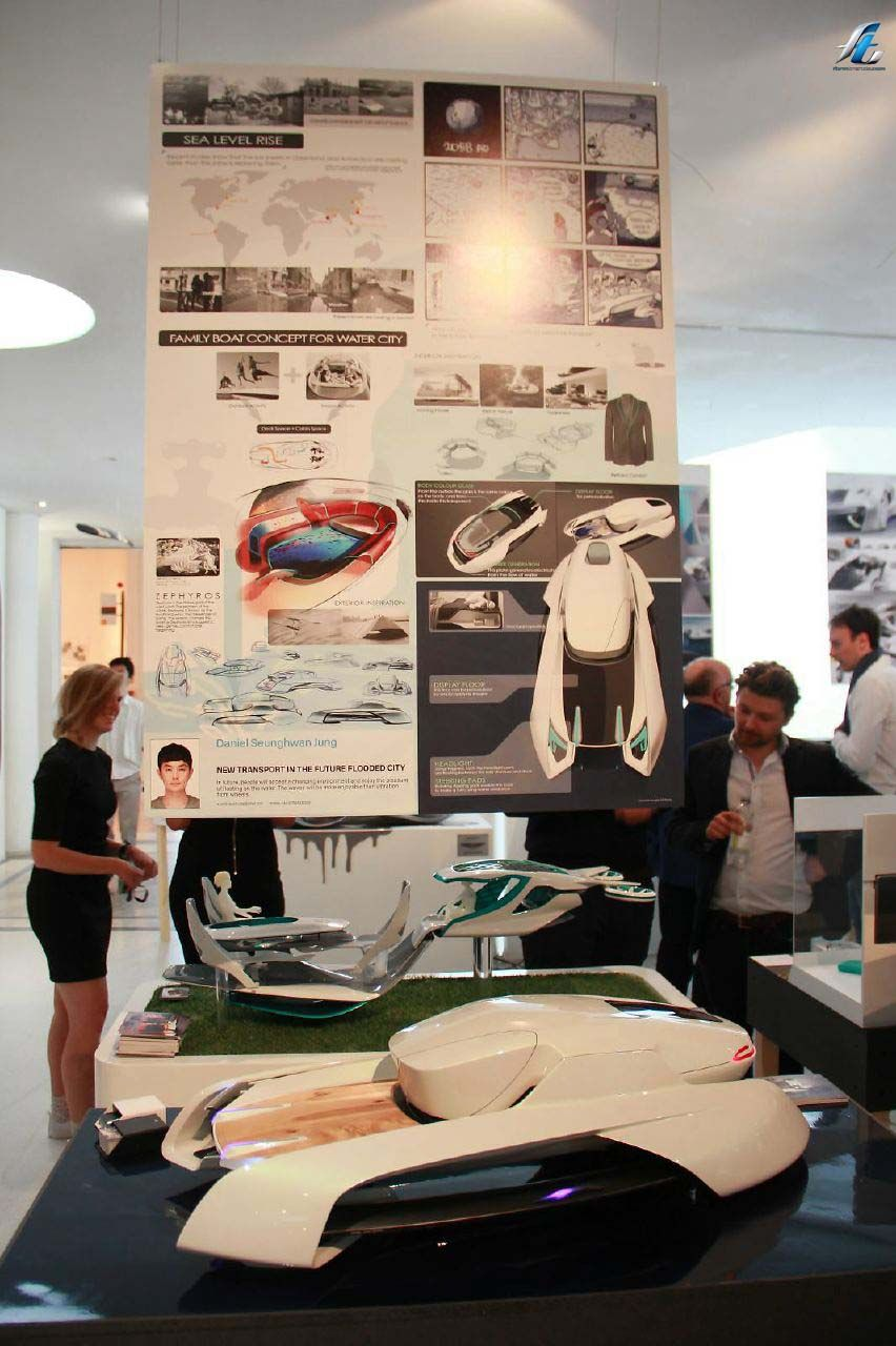 The Royal College Of Art Vehicle Design Program Recently Held An Exhibition At Its Campus In