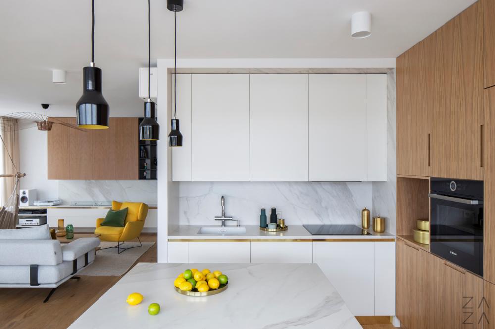 Stylowa I Praktyczna Kuchnia W Bloku Poradnik Internity Home Interior Design Kitchen Kitchen Interior Kitchen Cabinets