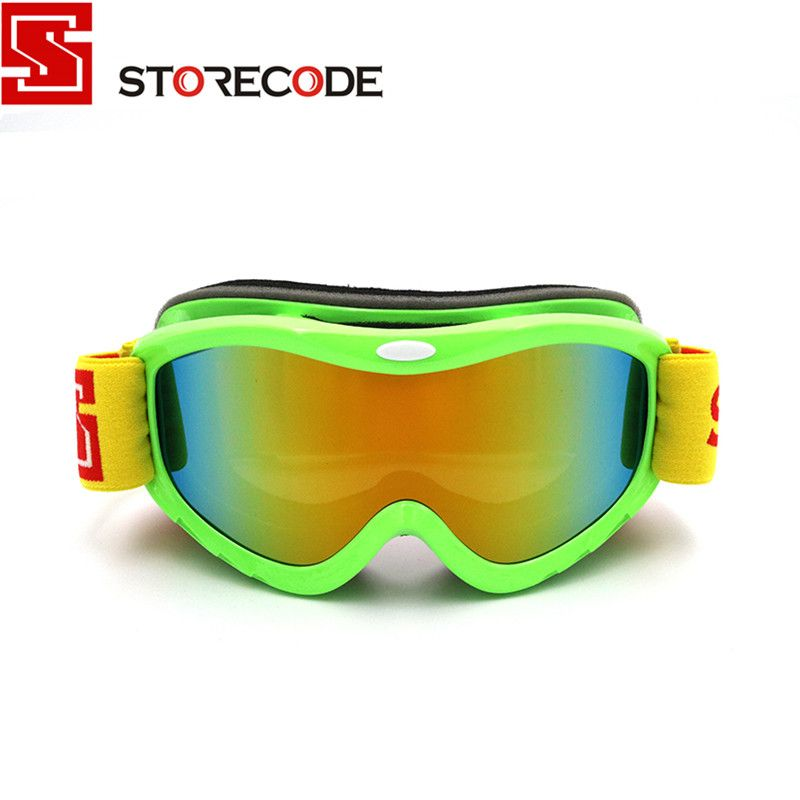 e0776875ecf StoreCode Brand Ski Goggles 2 Double Lens Anti-Fog UV400 Snowboard Glasses  Men Women Green Frame Skiing Snow Goggles Set S502