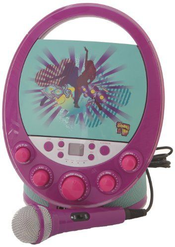 Karaoke System 66014 Shake it Up Karaoke Machine, Purple by Karaoke System. $118.99