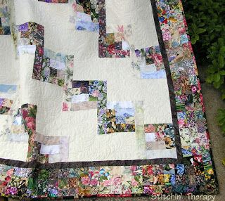 Stitchin' Therapy: scrap quilt