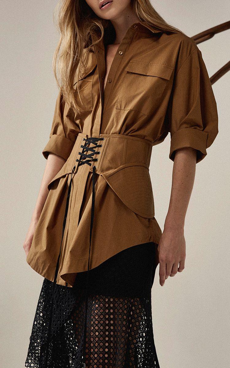 b356124b6b0 Talbot Patch Shirt by ACLER for Preorder on Moda Operandi