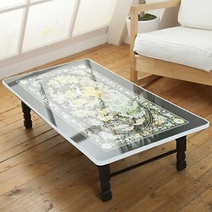 Nice Oriental Low Table Has Folding Legs And Would Be A Great Use