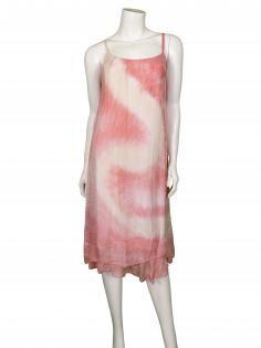 Damen Seidenkleid, multicolor