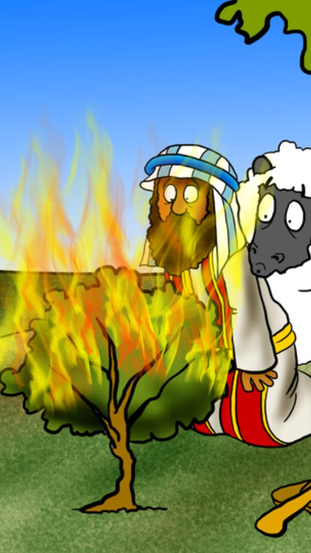mose brennender busch
