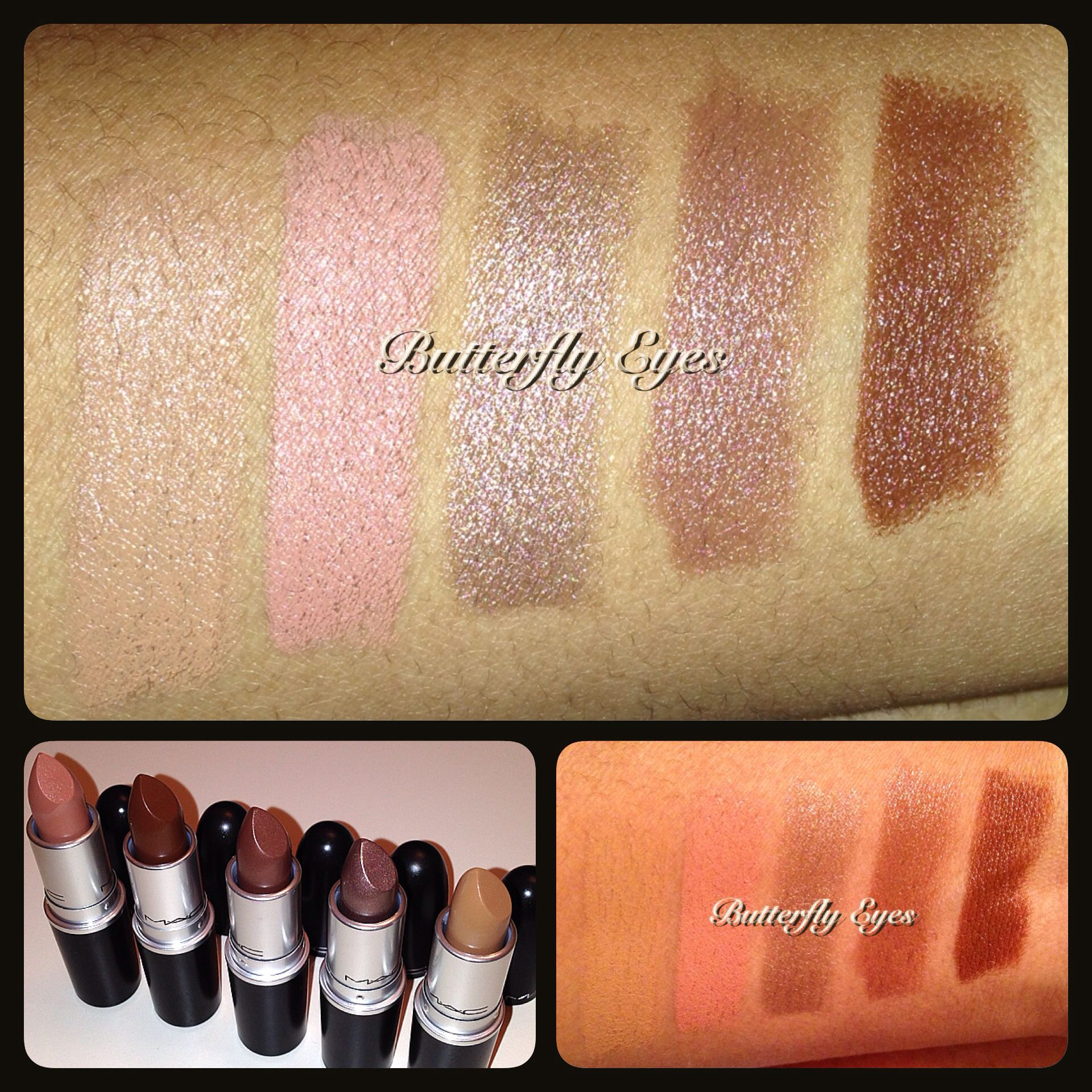 MAC Cosmetics Artificially Wild collection lipsticks in