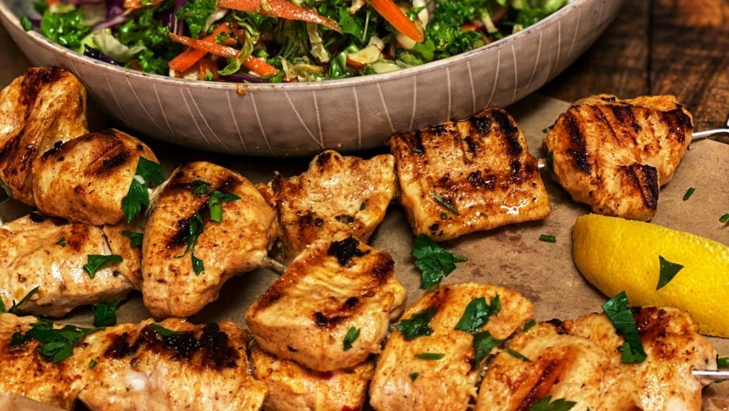 ASIAN KALE SALAD | HEALTHY FOOD | FRESH VEGETABLES