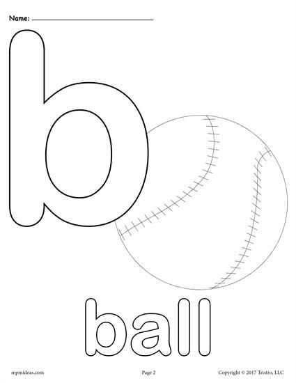 Letter B Coloring Pages Preschool And Kindergarten Letter B Coloring Pages Alphabet Coloring Pages Letter B Worksheets