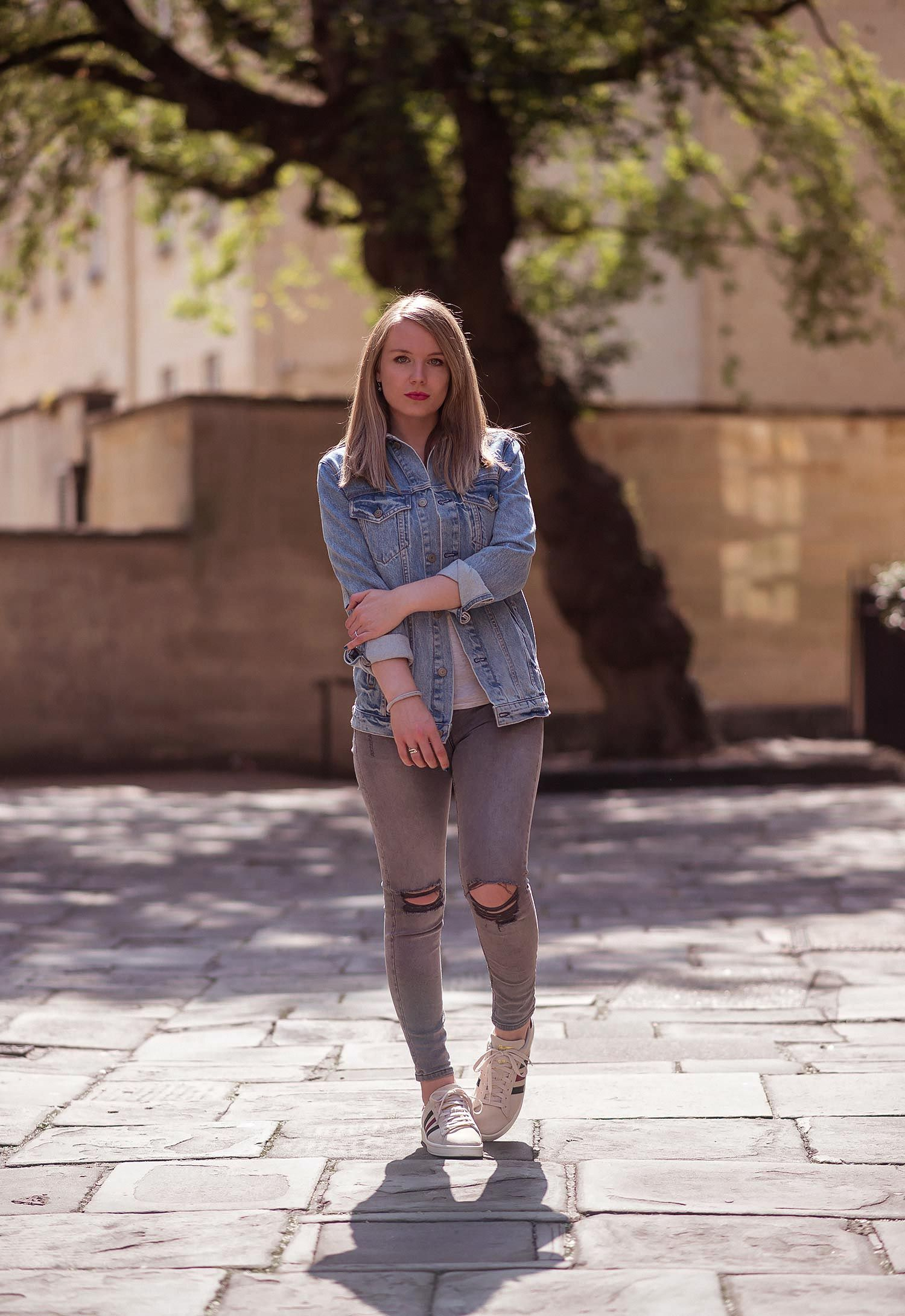 d3d24f6537dbb How I Wear Double Denim | Raindrops of Sapphire | Casual Outfit ...