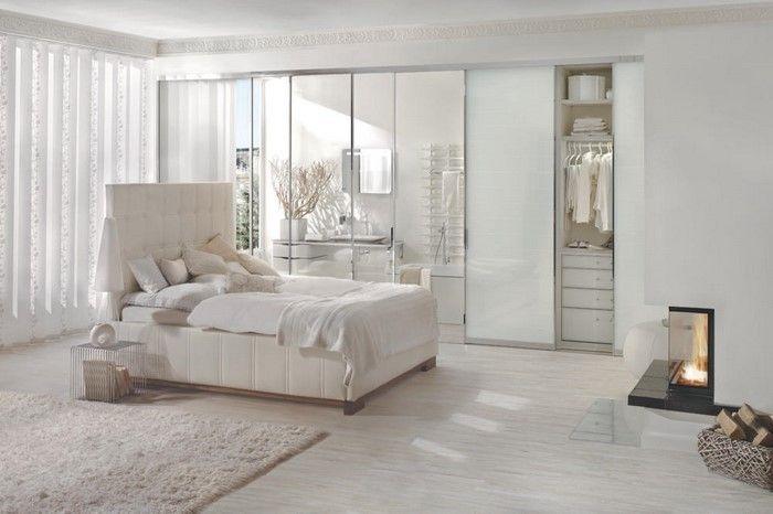 Schön schlafzimmer in weiß Anziehsache Pinterest - schlafzimmer in weiß