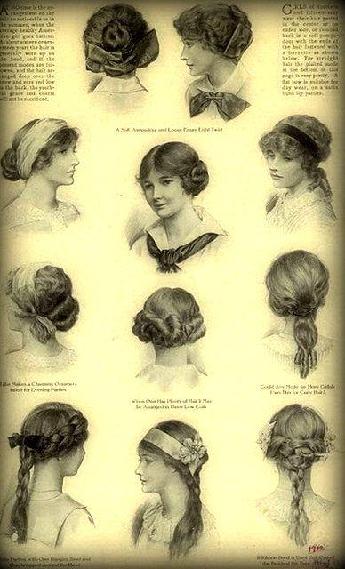 Peinados antiguos fotos