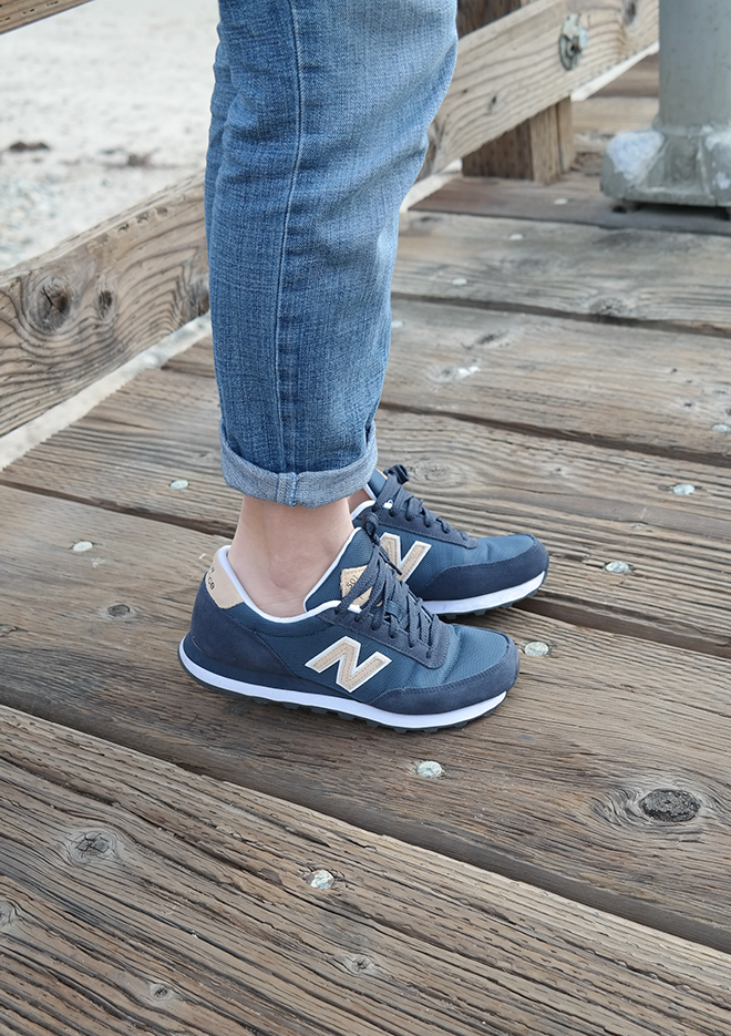 new balance jeans blue