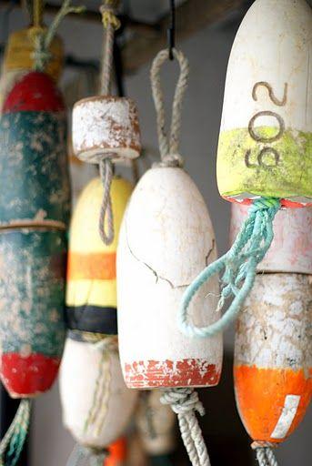 Old Buoys Really Cute Decorating Idea Fleamarketchics