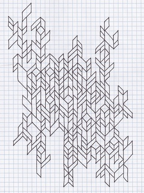Untitled  Graph Paper Doodles And Drawings