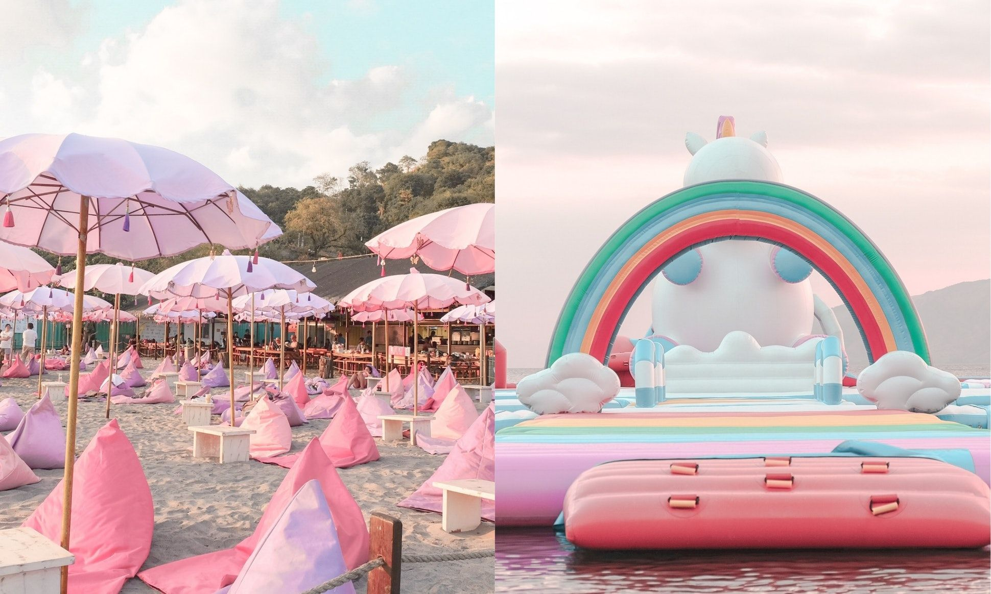 This Unicorn Island Is A Literal Place You Can Go On Vacation ...