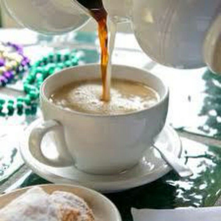 We love cafe con leche...Been drinking it forever..