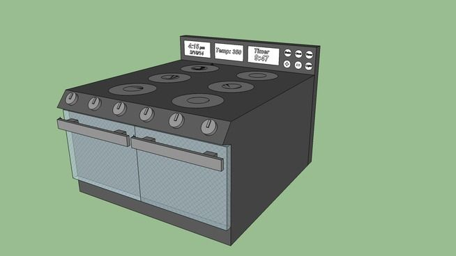 Oven/Stove - 3D Warehouse